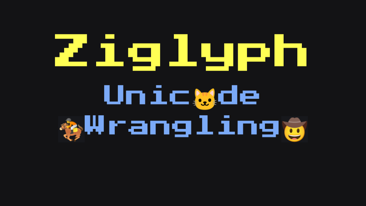 Cover image for Ziglyph Unicode Wrangling